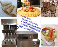 automatic pizza cone making machine / automatic pizza cone maker