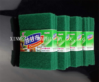 Customized unique mesh metal scouring pads/Not damage object surface kitchen cleaning sponge