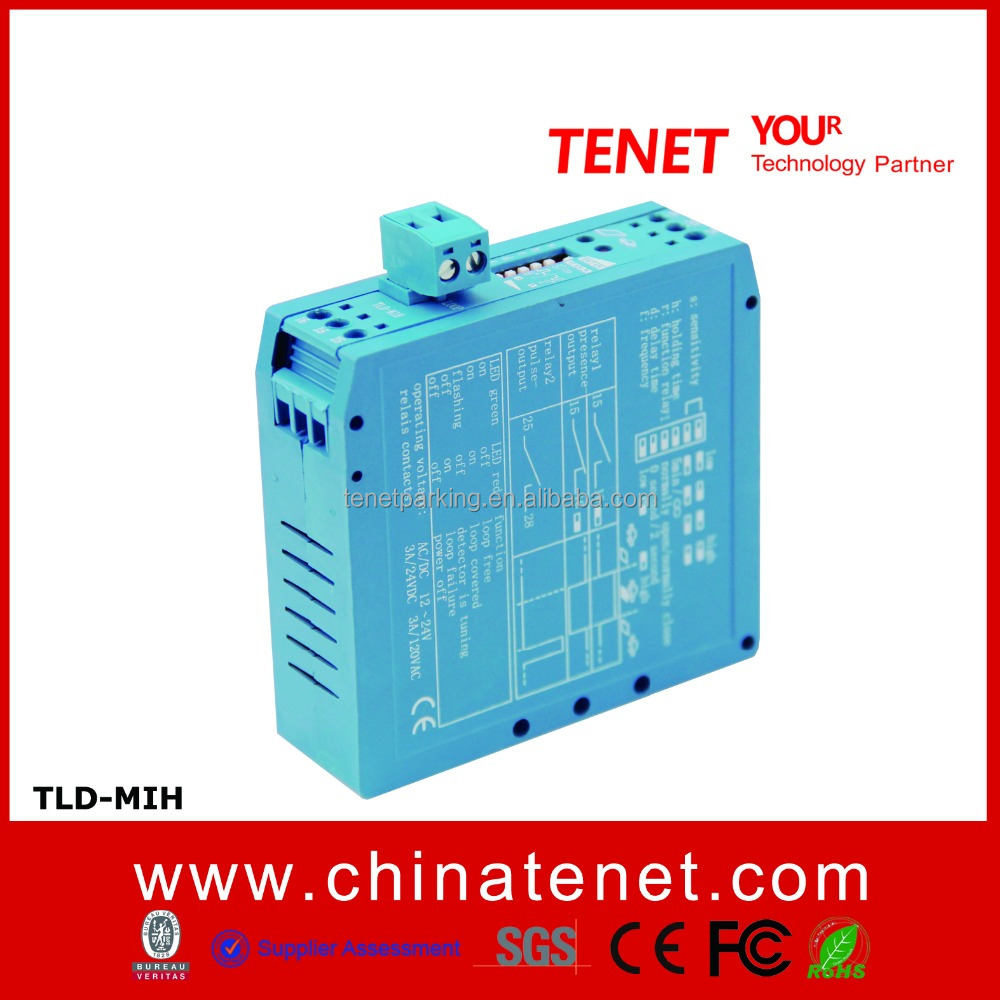 (TLD-M1H)2016 new products Vehicle Loop Detector With 1 Relays in Parking Access Control System