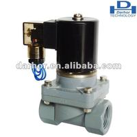 CPVC chemical solenoid valve for Potassium cyanide