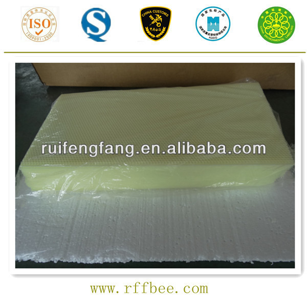 For beekeeper plastic beeswax foundation wholesale in China