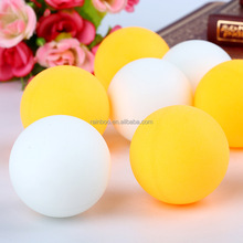 Hot selling standard 40mm white plastic ping pong ball table tennis balls