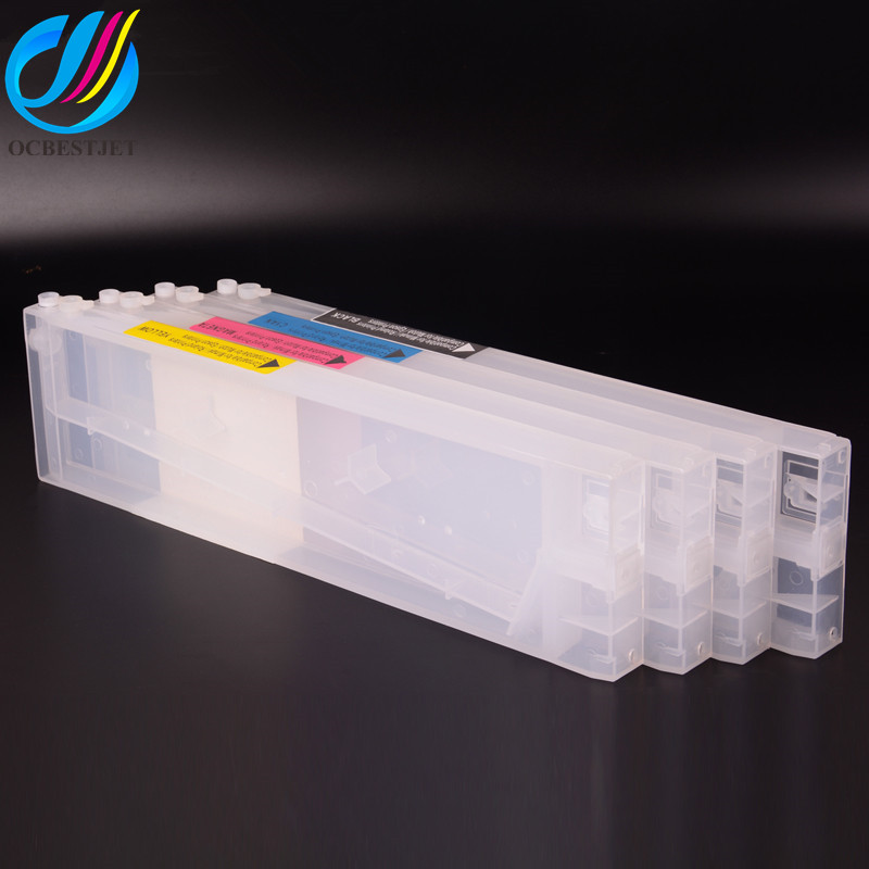 Ocbestjet <strong>10</strong> Colors 440ML/PC Reactive Refillable Ink Cartridge For Mimaki JV5 TS5 Printer
