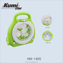 0.5W+29SMD small portable rechargeable FAN KM-1405