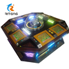 17 inch touch LCD touch screen 8 seat electronic roulette game machine