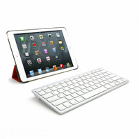 Ultra Slim Bluetooth Wireless Keyboard For iPad Android Tablets