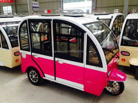 close carbox three wheel motorcycle 3 wheel tricycle for passenger/electric taxi