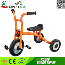 Big size CCC approved children pedal tricycle with three wheel trike made by China factory