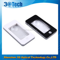 DH-82006 Iphone shape credit card light led lens magnifier