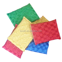 Mesh sponge for daily home,mesh sponge with handle
