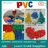 Factory price HI-90 plastic soft PVC pellet for cable jacket