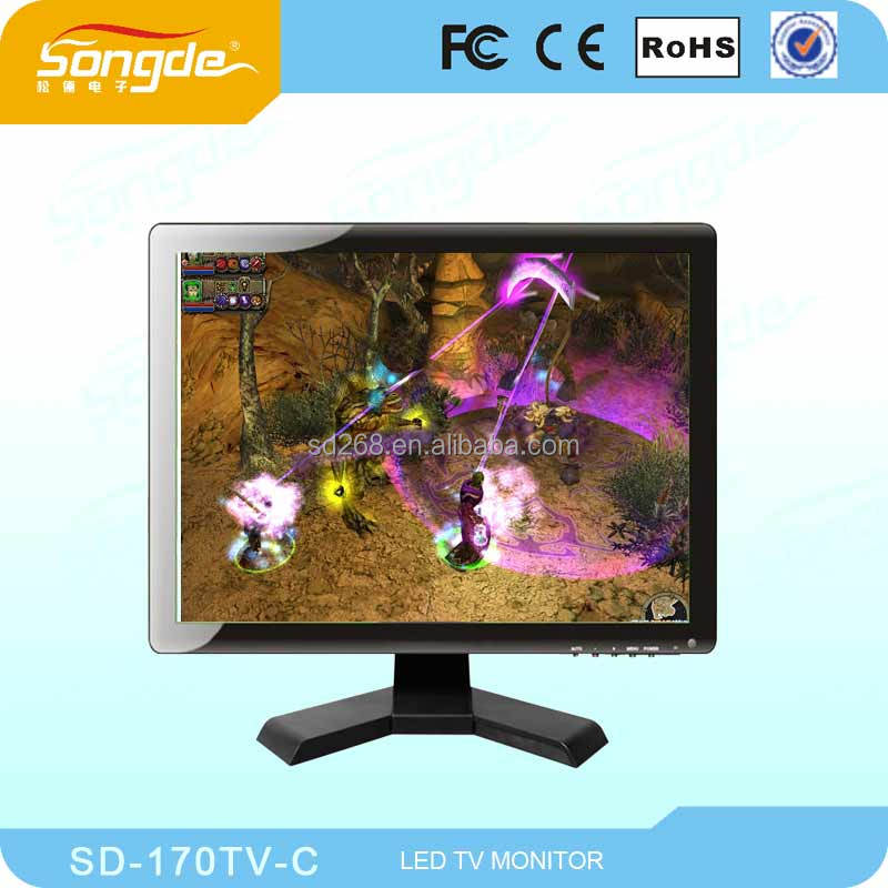 17 Inch Lcd Tv//12 Volt Dc/lcd Pc Monitor/hot Sell Modern Design 17inch Led Tv