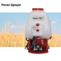 (81419) 2-stroke engine TU-26 equipped 767 agricultural power sprayer