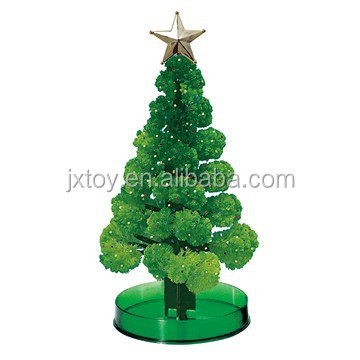 Magic growing christmas paper tree/Novelty Toys Magic