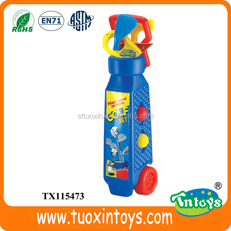 Plastic junior kids mini golf clubs