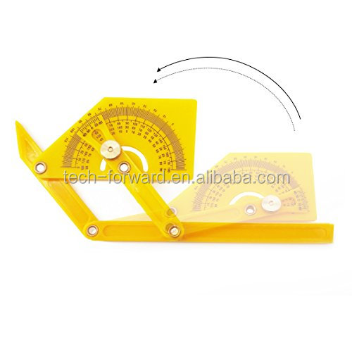 Angle Finder, Multi-Angle Measuring Ruler,Plastic Protractor and Angle Template Tool