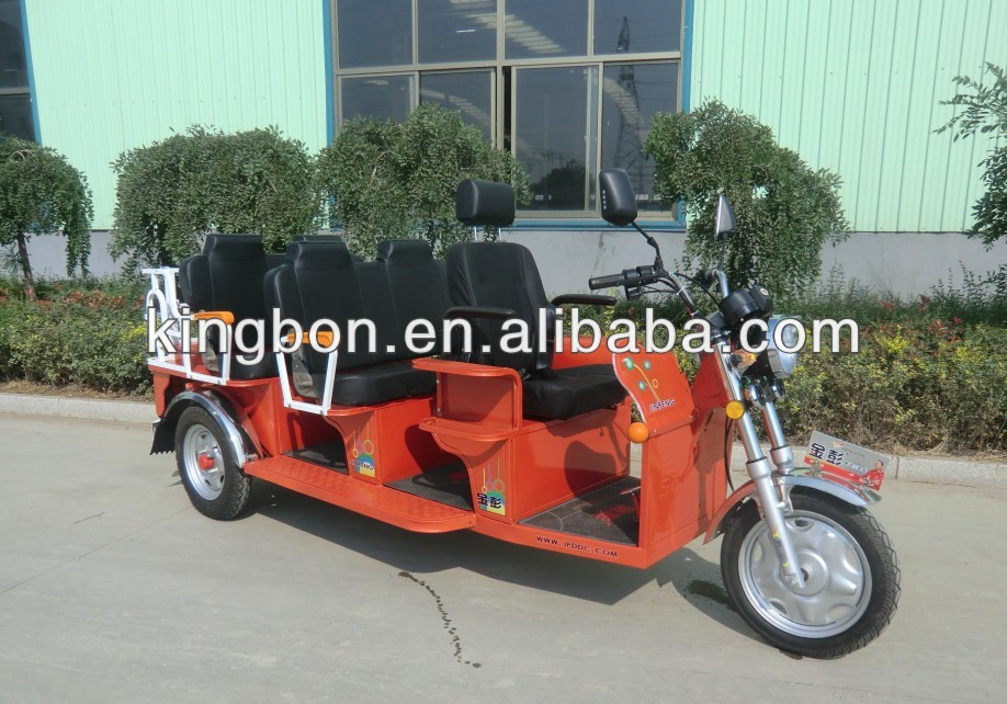 1200W battery electric auto tricycle for passenger india