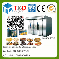 T&D bakery Machine - Industrial Bread Oven Gas Rotary Convection 32 Trays Big oven for baking