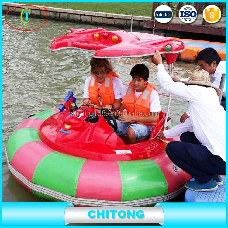 Inflatable Electric Bumper Boat With Electric Motor