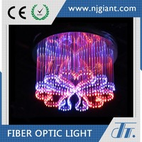 Wholesale acrylic color changing led plastic chandelier