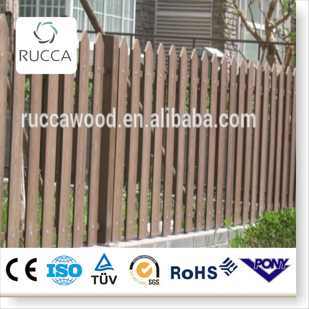 2016 WPC wood portable yard wood fence pickets panels for sale from Foshan China factory directly sale