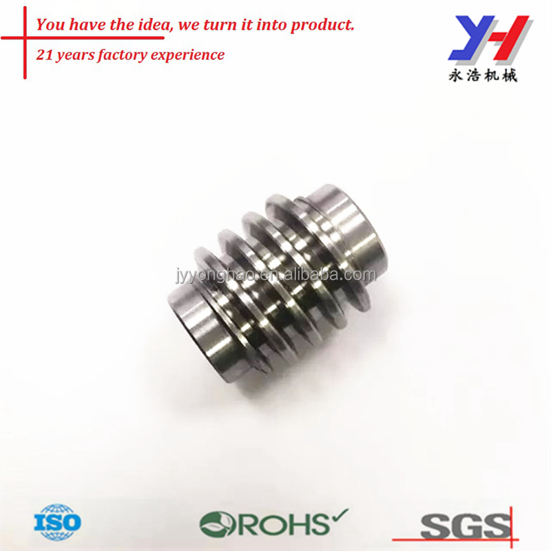 OEM cnc machining its-012 stainless steel worm gear as your drawings