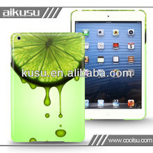 2013 custom plastic case for miniipad (PC,ABS,TPU and silicone material)
