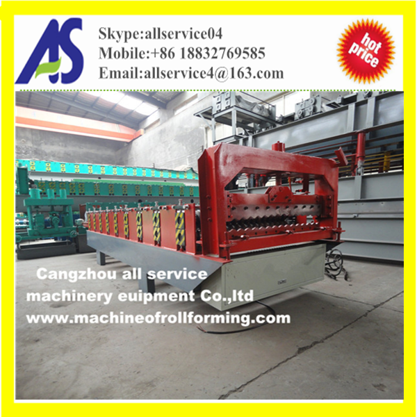 Metal Color Steel Roofing Tile Roll Forming Machine