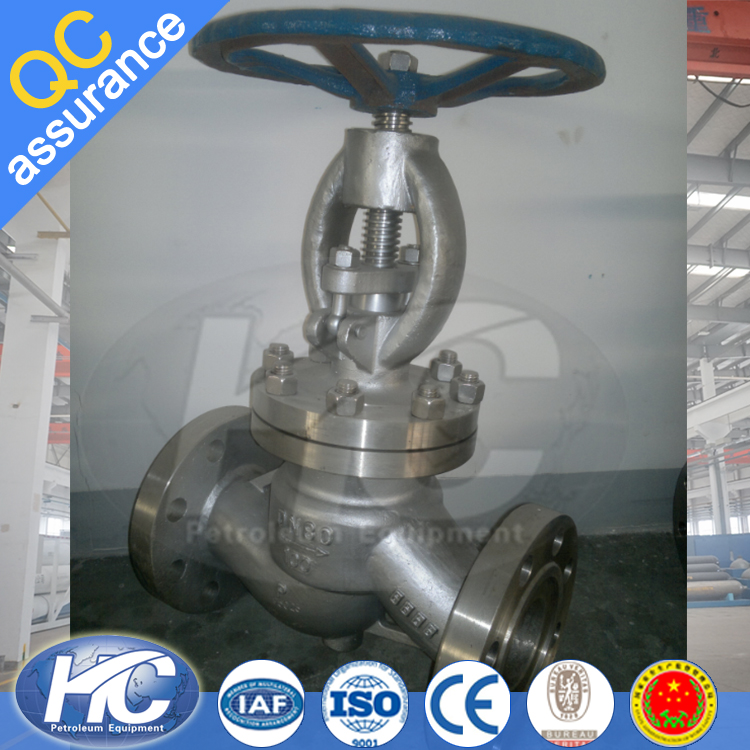 Industrial flange gate valves / stem gate vale for oil gas and water