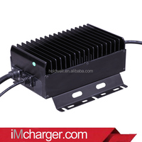 48V 13A smart and light golf car battery charger for Club Car Personal Utility 4