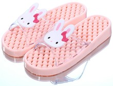 BEIXIDUO High Quality Plastic <strong>Air</strong> Blowing Slippers House Shower Bathroom Slippers for Lady and Girls