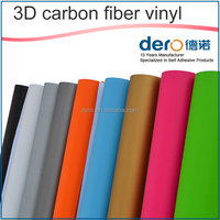 wholesale price 3D colors carbon paper / Supreme car sticker with customized design