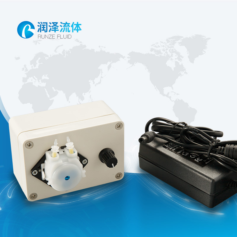 small speed adjustment dc 12v peristaltic pump