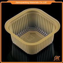 Golden plastic biscuit tray
