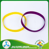 New design debossed logo silicone latest design bangles and bracelet