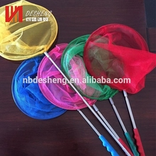 Children's retractable catching insect net