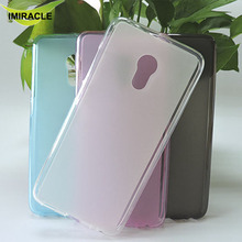 TPU Silicone Rubber Mobile Case Soft Cover For Meizu Pro 6 Mobile Phone