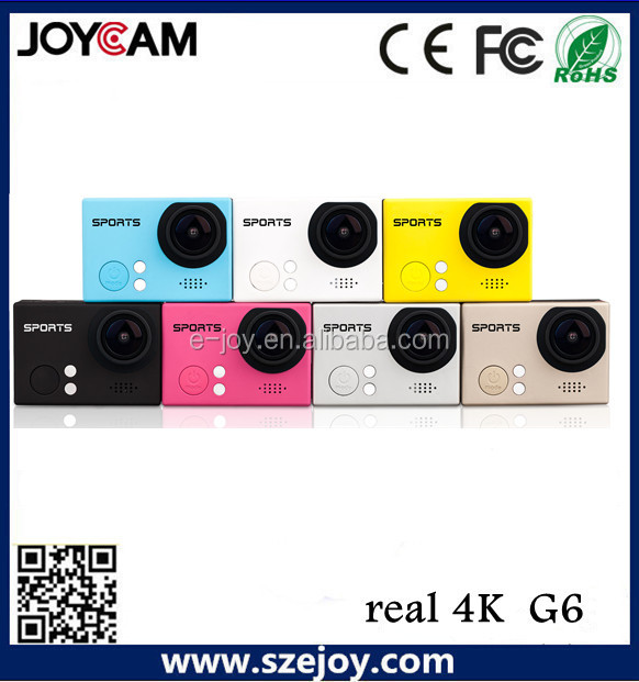 WIFI Action Camera 4K Ultra-HD sport camera 1080P 60FPS 4k Camera Sport DV 8.0 MP CMOS Sensor G6