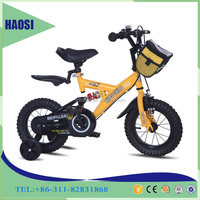 "China Bicycle factory children bike BMX bike kid bike 12"" to 20"" size supply with steel frame fork with Shock absorption"