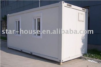 20' container house design