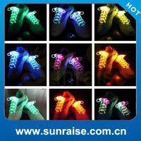 Most Popular Light stylish cool led shoe lace neon glow in dark stick gadget disco pave party Made in China
