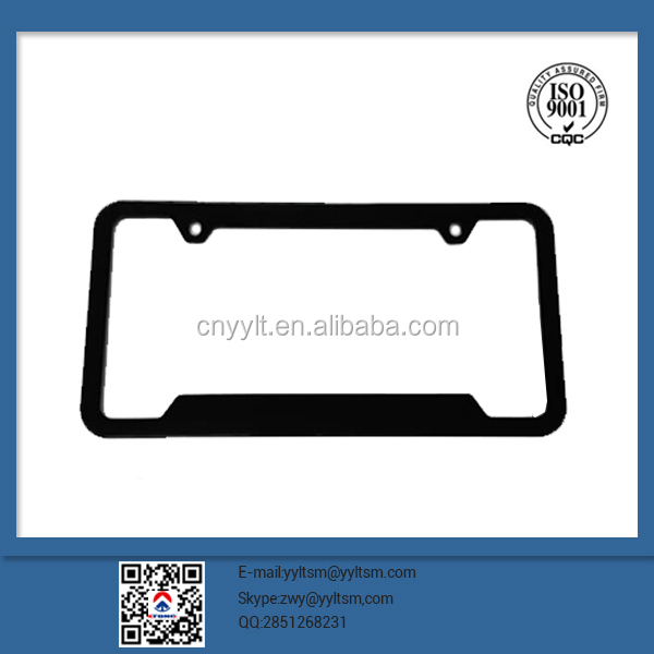 Wholesale elegant custom plastic license plate frames for canada