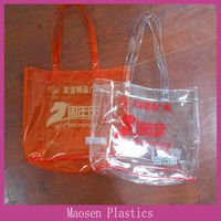 Noble and elegant pvc tote bag for packaging