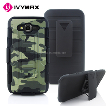 Alibaba wholesale defender case for samsung J7 super combo 3 in 1 printing rugged holster supcase