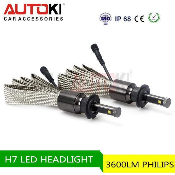 H7 bus headlamp dual light source headlamp uv led headlamp