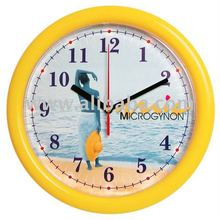 Promotional plastic wall clock 10""