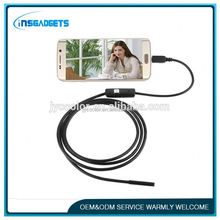 8.5mm 2mp usb endoscope borescope camera 5.5mm usb inspection borescope