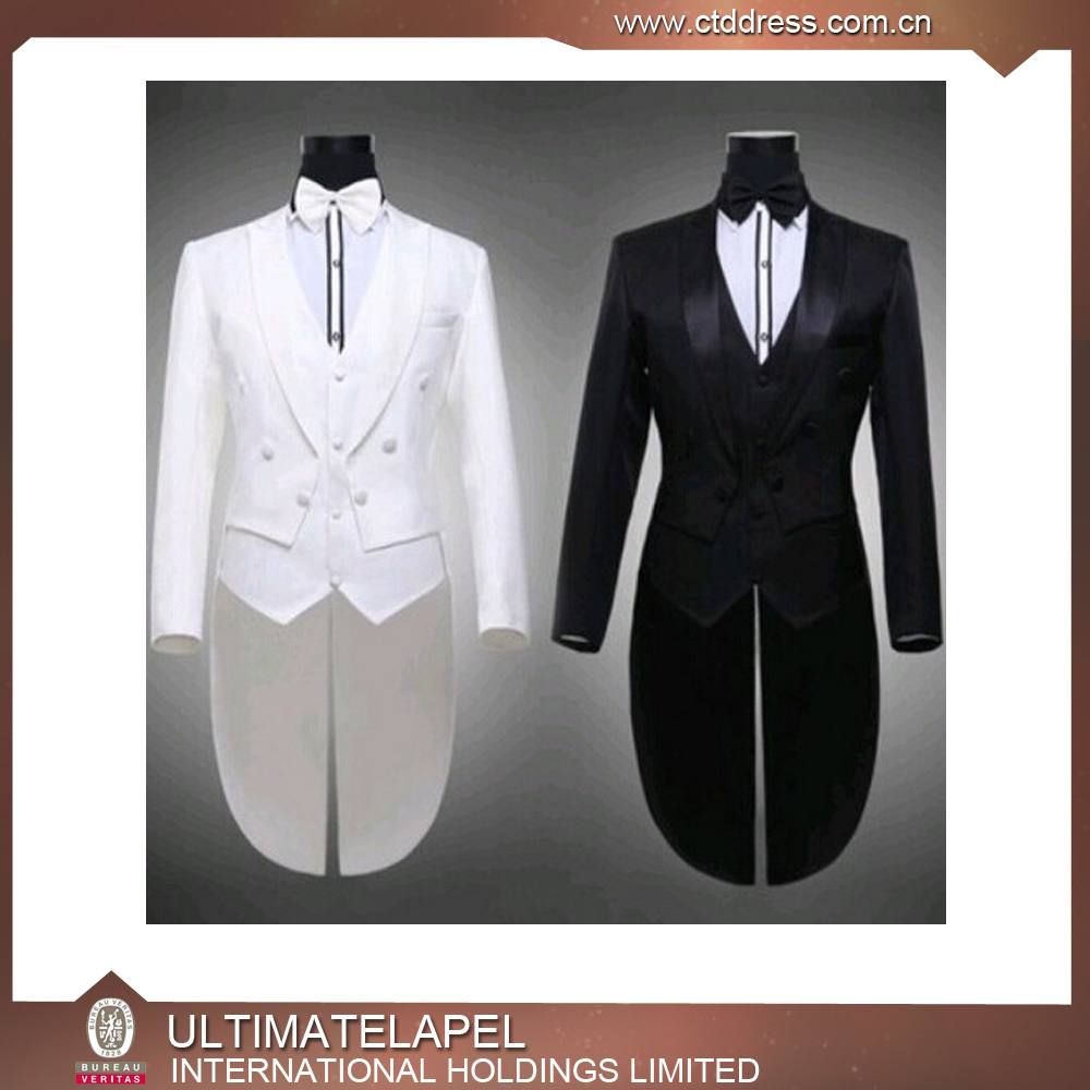 Mens Wedding Suit Long Tail Coat - Buy Mens Wedding Suit,Long ...