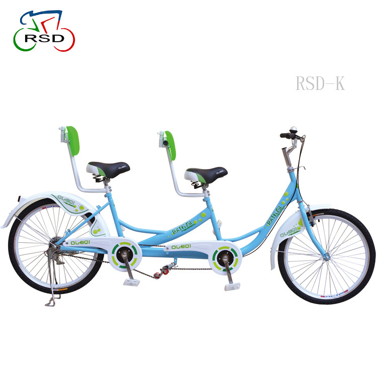 Beach Cruiser Pedal Quadricycle For Sale, Sightseeing 2 Person Surrey Tandem Bike/tandem bike aluminum frame for cycling