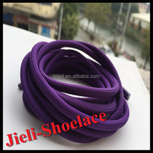 Jieli new hot products on the market round shoelaces elastics solid colored shoes laces